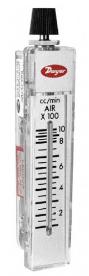 FLOWMETER, RANGE 30-200 CC/MIN AIR