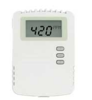 DWYER CDT-2W40-LCD: SENSOR DE CO2 PARA MONTAGEM EM PAREDE, FAIXA DE MEDIÇÃO DE 0-2000PPM, SAÍDA 4-20MA / 0-5VDC / 0-10VDC, DISPLAY LCD