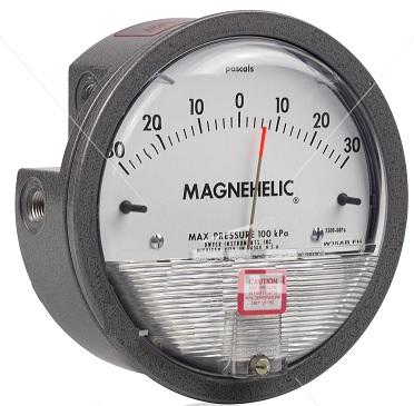 MANÔMETRO MAGNEHELIC, FAIXA DE -50  À 50MMCA